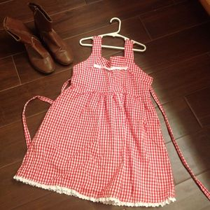 Other - Country Western Girls Dress Size Large Custom 🎠